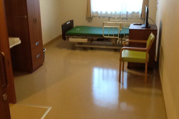 充実した設備の居室