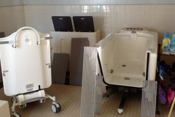機械浴も完備してます。