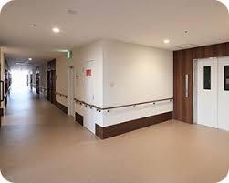 開放的な廊下です。