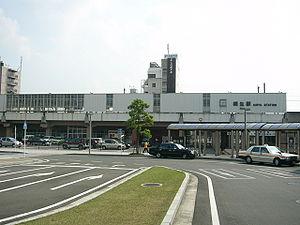 JR桐生駅