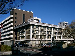 桐生市役所