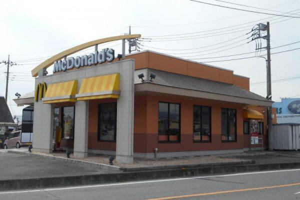 マクドナルド 大胡バイパス店