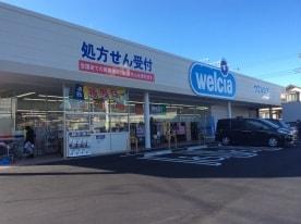 ウエルシア薬局 桐生境野店