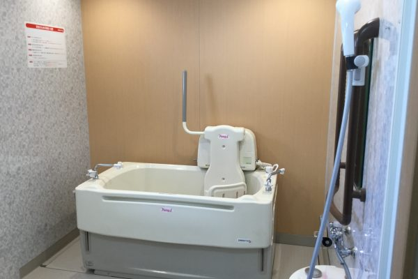 個浴はもちろんのこと機械浴も配備されております
