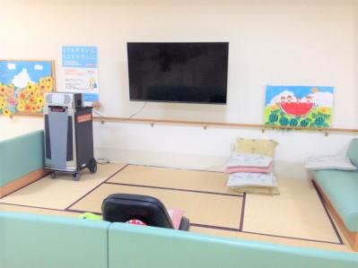 休憩スペース(カラオケ設備あり)