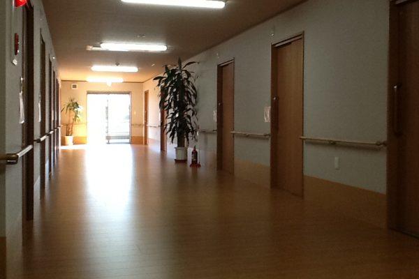 ワイドな廊下