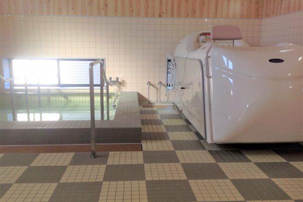 お風呂(機械浴・大浴場完備)