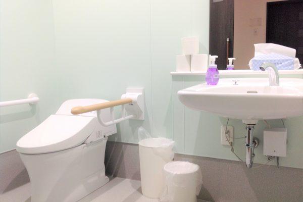 介護用トイレ完備