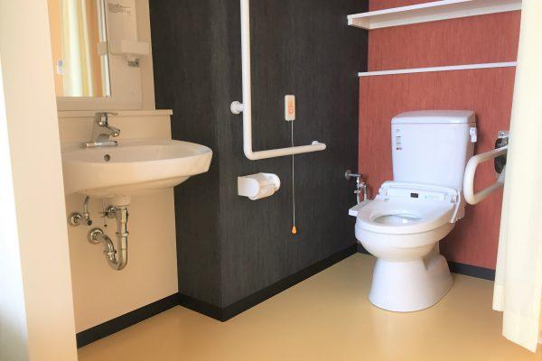 居室内トイレ&独立洗面台